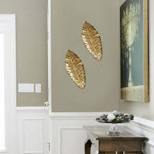metal leaf wall art indoor