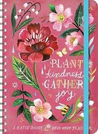 17 Month Calendar Katie Daisy 2019 2020 On The Go Weekly Planner 17 Month Calendar With Pocket
