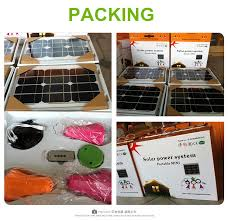 home outdoor lighting solar powered bulb system solar panel kit
