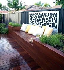 backyard wall planters plants diy outdoor bench patio flower boxes ideas marvellous walls planter box architectures backyard diy planters