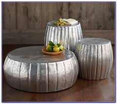 African Drum Coffee Table Silver Drum Coffee Table Coffee Table Home Furniture Ideas