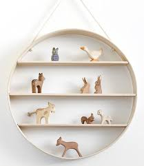 Circular Floating Shelves Adorable 32 Decorative Wooden Wall Shelves Home Design Lover