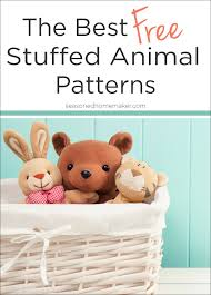 Free Stuffed Animal Patterns Best The Cutest Free Stuffed Animal Patterns
