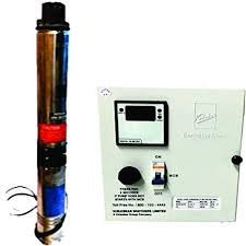 Submersible Pump Size Chart Kirloskar Submersible Pump 1hp With Control Panel Single Phase Multicolor
