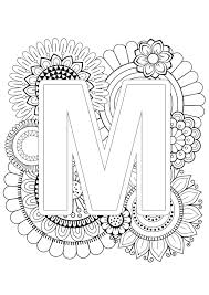 I created 26 alphabet sheet to help my preschool and kindergarten age student get a gentle introduction to phonics as they color pictures based on these abc coloring pages are a no prep, educational activity to help kids learn their letters and the sounds they make. Mindfulness Coloring Page Alphabet Coloring Letters Alphabet Coloring Pages Printable Coloring Pages