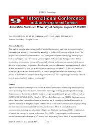 PDF) Preparing a musical performance: rehearsal techiques (by Sonia Ray and  Thiago Cazarim) | Thiago Cazarim - Academia.edu