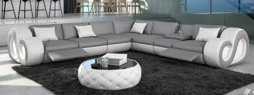 Leder Couch Nesta L Form Xxl