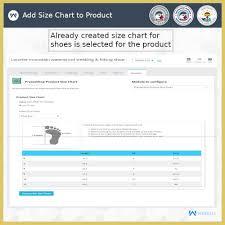 Product Size Chart Module