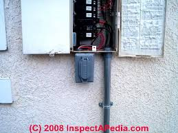 electrical conduit installation tips and inspection guide for home Fuse Box Wires Exposed Hosuing Violation electrical conduit at a service panel (c) d friedman t hemm