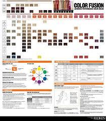 Redken Cover Fusion Chart Pdf Redken Color Fusion Chart 2 Redken Hair Color Redken