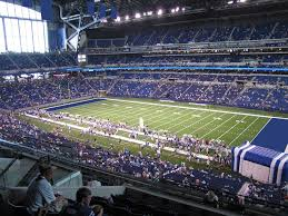 Lucas Oil Stadium Seating Chart For Colts Games Lucas Oil Stadium View From Loge Level 435 Vivid Seats