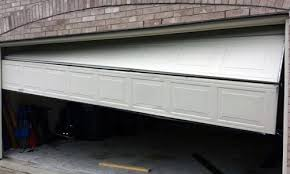 broken garage door garage door repair and installation in wilmington nc