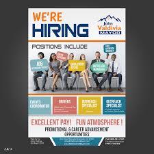 Flyer Jobs Bold Playful Employment Agency Flyer Design For Valdivia