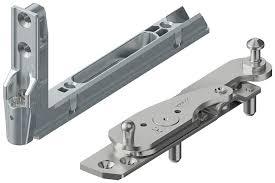 roto hinge. corner bracket and hinge roto