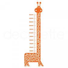 Giraffe Growth Chart