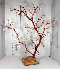 diy jewelry tree elegant diy jewelry tree stand anthropologie picture reference branch wire christma of life diy jewelry tree