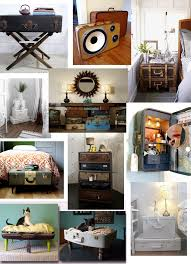 Here are some photos of repurposed suitcases that are sure to make you  rethink and repurpose that old dusty suitcase in your basement.