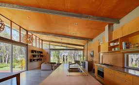 Earth Homes Designs Solar Powered Bush House Exemplifies Chic Eco Friendly Living In