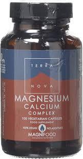 Terra Nova <b>Magnesium Calcium</b> 2:1 <b>Complex</b> (100 Vegetarian ...