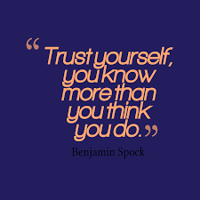 Quotes Trust Yourself