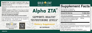 view the alpha zta label