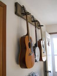 diy guitar hanger simple secure we practice so much more since we