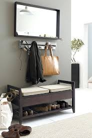 Entryway Bench With Shoe Storage And Coat Rack Stunning Entryway Benches With Storage Jig Silver Coat Rack Entry Coat Rack
