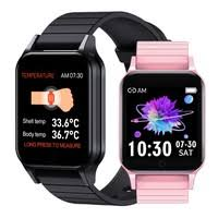 <b>2020</b> Newest Body Temperature <b>Smart Watch T96</b> Waterproof ...
