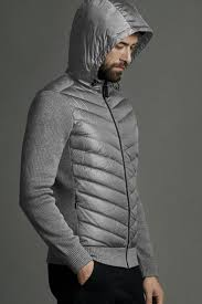 Men  39 s HyBridge Quilted Knit Hoody   Canada Goose