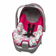 evenflo car seat includes base newborn infant baby girl pink