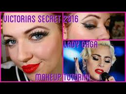 victorias secret fashion show 2016 lady a makeup tutorial collab