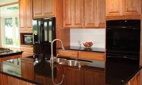 Stainless Steel Appliances With Wood Cabinets Wooden Thing