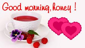 good morning honey sweet message