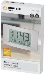 large display lcd wall clock wiltronics