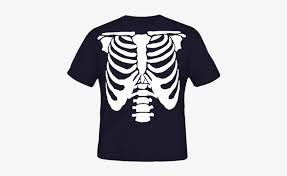 t shirt rib cage skeleton t shirt