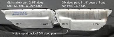Gm Transmission Pan Identification Chart Pml Gm 4l60e 4l65e 4l70e 4l75e Deep Transmission Pan