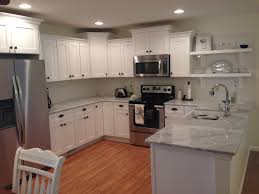 Shaker Style Kitchen Shaker Style Kitchen Cabinets White Carrara Marble Counter Tops