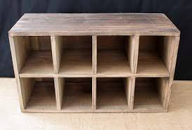 event prop hire rustic vintage wooden pigeon hole