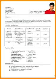 Resume Format Pdf Format Style Resume Format Format Resume Best Cool Best Resume Style