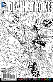 Small Picture Deathstroke Coloring Pages Great FM9 DebbieGeorgatos