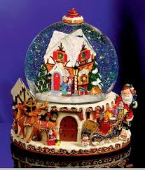 christopher radko snow globes. Plain Globes Christopher Radko St Nicholas Lane Musical Snowglobe In Snow Globes S