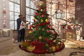 <Heart Homes> Luxury Regency - Christmas tree PG - Xmas tree with many  couples