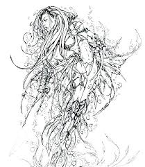 Realistic Mermaid Coloring Sheets Coloring Pages Of Realistic