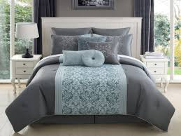 grey and aqua bedroom turquoise and silver bedding grey and aqua forter set