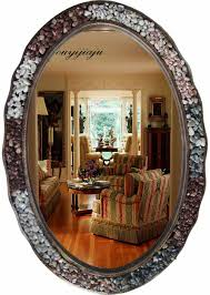 Large Wall Mirrors For Bedroom Aliexpresscom Buy Large Big Decorative Cosmetic Antique Oval
