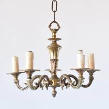 small bronze chandelier from france small bronze chandelier e88