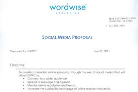 Social Media Proposal Template Social Media Proposal Best Templates To Win Clients