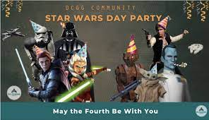 DC Gaming Group Community Star Wars Party - 4 MAY 2021