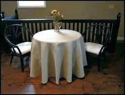 how to make a round tablecloth without sewing making tablecloth sewing ideas