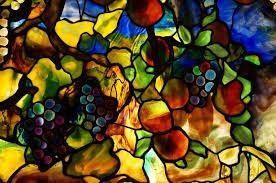 Authentic Art Nouveau Stained Glass Designs In Full Color Art Nouveau Tiffany Co Elora Medium